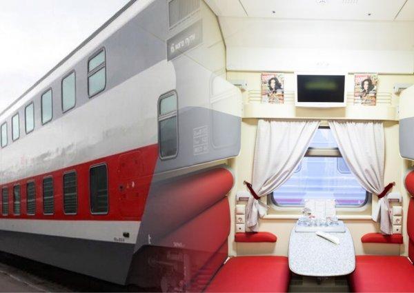 «Тесно и на голове две шишки»: Пассажирка нового двухэтажного поезда РЖД жалеет о потраченных деньгах