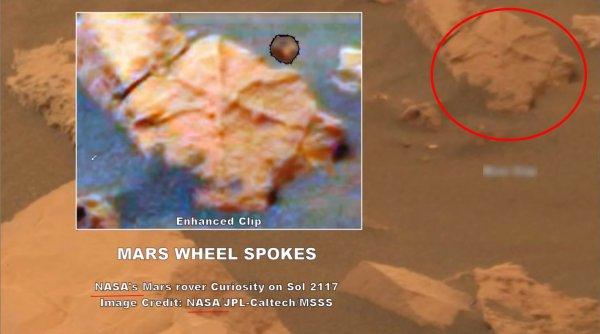 На Марсе нашли колесо: NASA стремится первым заполучить инопланетные технологии