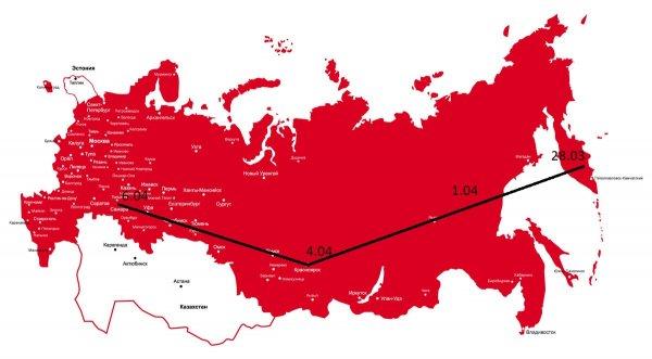 Составлена карта России, где «нибируанский Танос» может уничтожить половину населения - уфолог