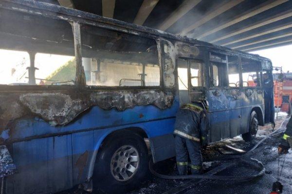 «Пригорели задние сидения»: Случился очередной «пожар» в автобусе Владивостока