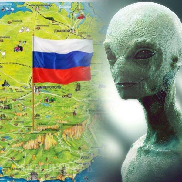Нибиру вызвала снегопад в Крыму