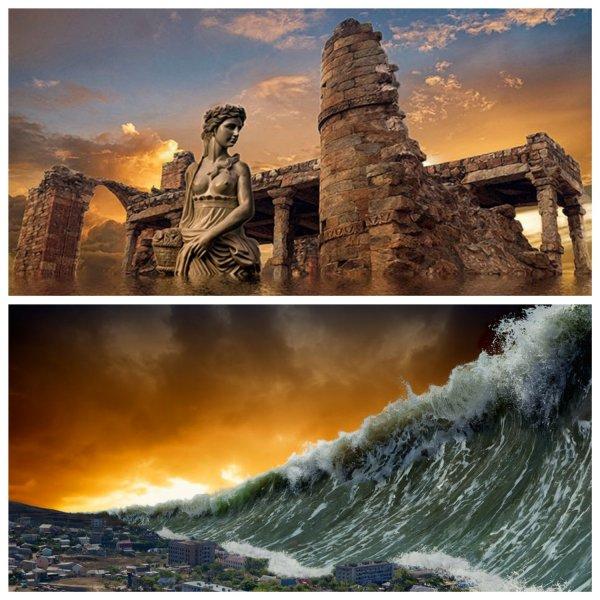 Идеальная Земля для атлантийцев: Стало известно, кто создаст Всемирный потоп