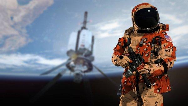 Энергетические щиты против пришельцев: США готовятся к войне за Марс