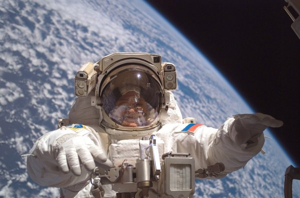 Космическая радиация «сжигает» космонавтов на МКС