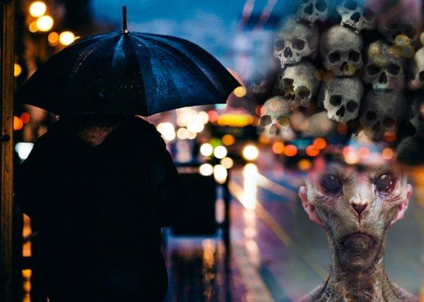 Нельзя попадать под дождь: Пришельцы с Нибиру сбрасывают тысячи океанских вирусов на города