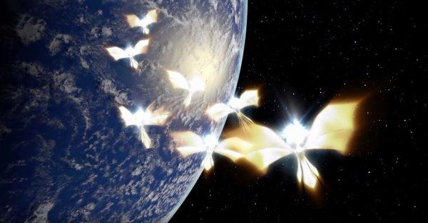 Ангелы Нибиру устроят Армагеддон 4 мая: Появились кадры полёта пришельцев над Землей