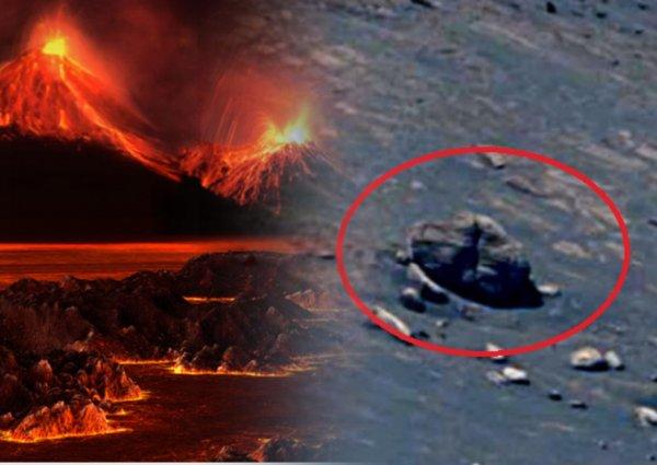 Жертва опытов пришельцев был прав? Марсиан уничтожило сильнейшее извержение вулкана