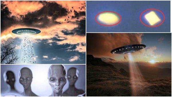 Пришельцы следят за США: Алмаз-НЛО заметили над военной базой в Неваде