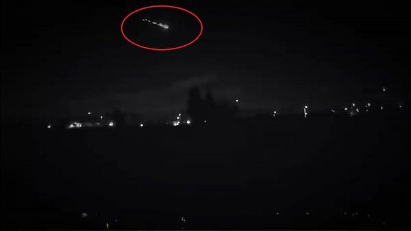 Символ Троицы: «тройной» метеорит пролетел над США