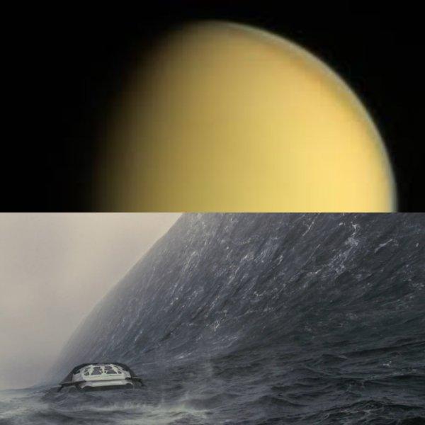 Луна Сатурна обитаема: На Титане есть разумный океан