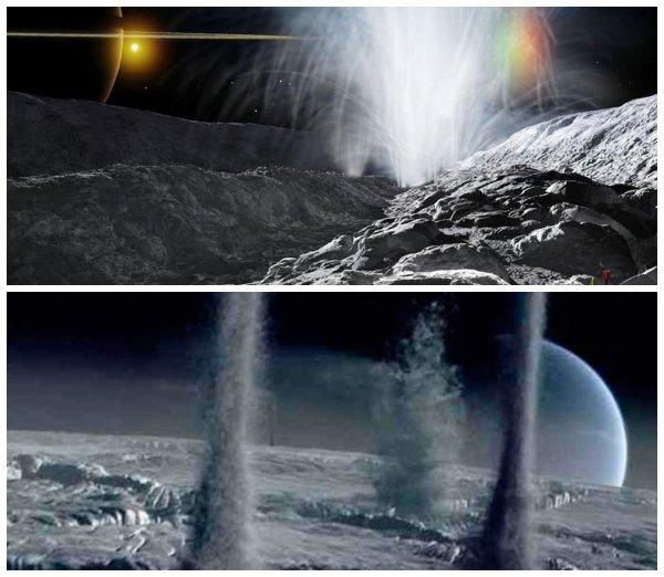 Водный «плевок» Нептуну: Спутник Тритон обладает сверхмощными гейзерами - учёные