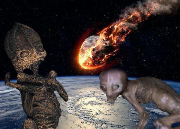 Метеорит «взорвёт» Россию 3 октября – Инопланетные карлики начали массово заселять Землю