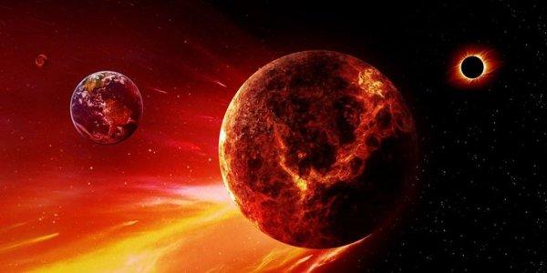 В конце 2019 года Красный спутник Нибиру врежется в Землю