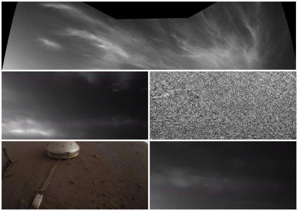 Инопланетяне позвали Илона Маска в гости! В атмосфере Марса зафиксированы ледяные облака