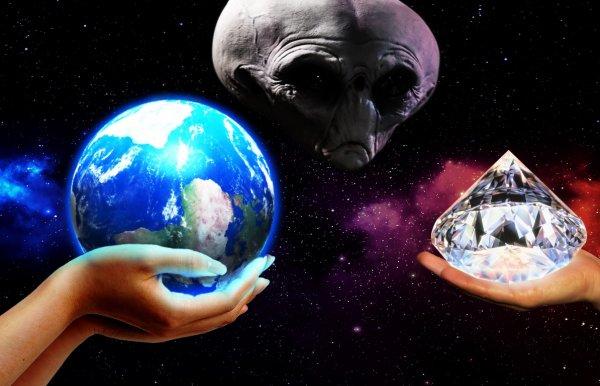 Геноцид ради топлива: Пришельцы хотят сделать из Земли алмазный рудник