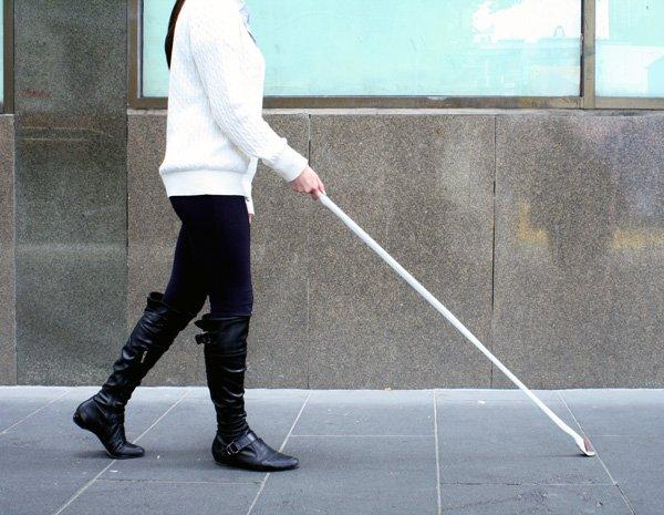В России создали электронного «поводыря» для слепых