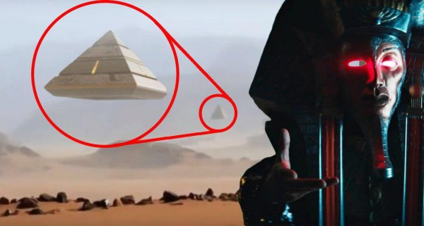 Древние вернулись? Летающая пирамида атлантов попала на видео