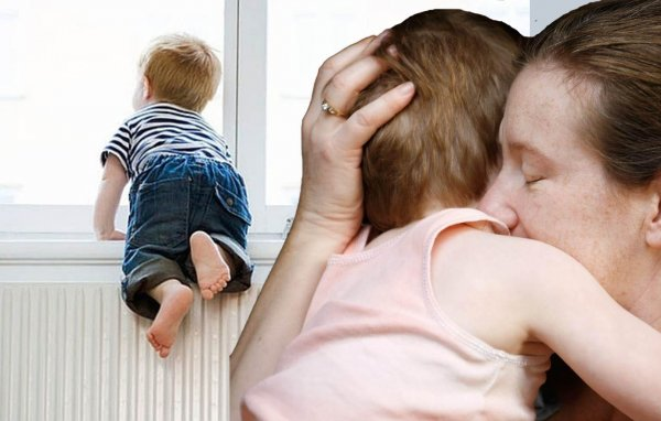 «Детопад» вновь усиливается - Неадекватная мамаша «проветрила» ребенка из окна 8-го этажа