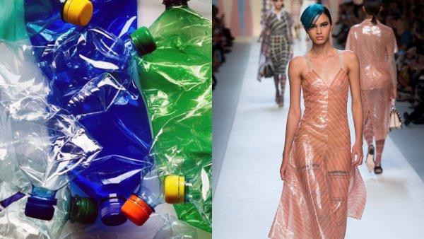 Красиво, модно и гуманно: Пластиковая одежда превращается в тренд этого лета