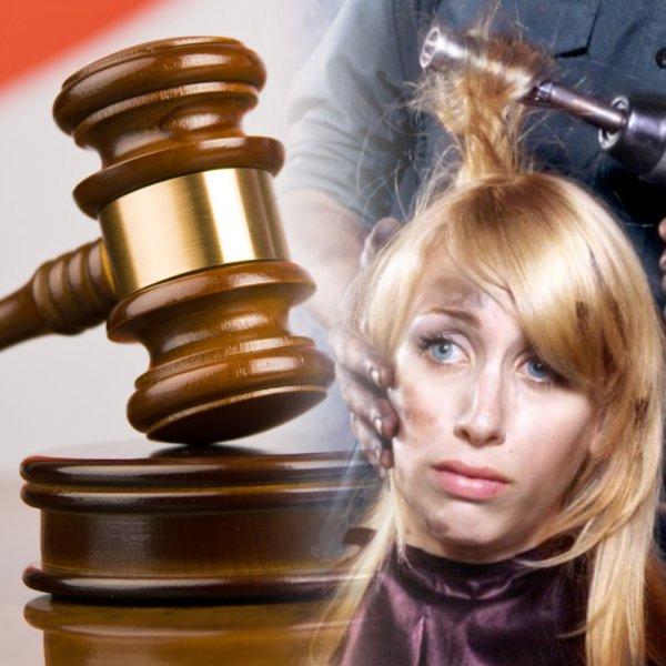 Ответят по букве закона! Наказать горе-мастера за испорченную шевелюру сложно, но можно