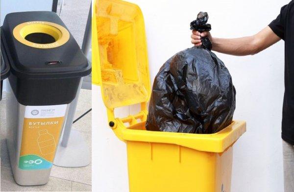Непонятное ведро: Россия удивила участников ПМЭФ технологией раздельного сбора мусора