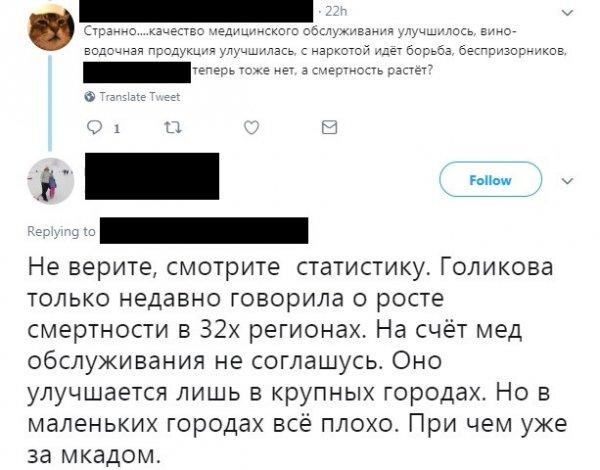 А россияне заметят? Голикова похвасталась желанием бизнеса тратиться на медицину