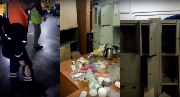 «Бомжи живут лучше!»: Грузчики многострадального Шереметьево показали условия работы