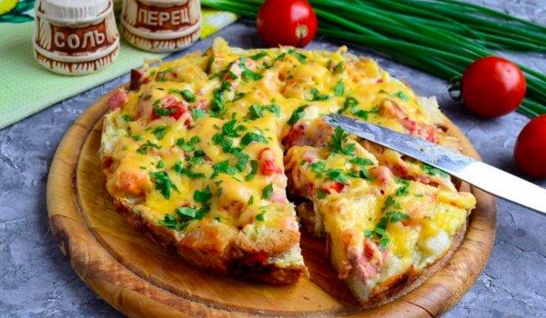 Пицца-ленивка. Домохозяйка раскрыла самый простой рецепт пиццы без теста