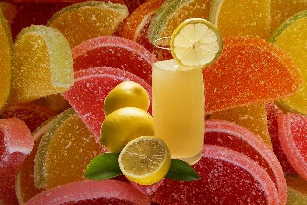 Лимонад в мармелад! Съедим то, что не допьём.
