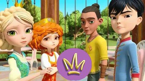 В мультсериал «Царевны» добавили азиата и мулата
