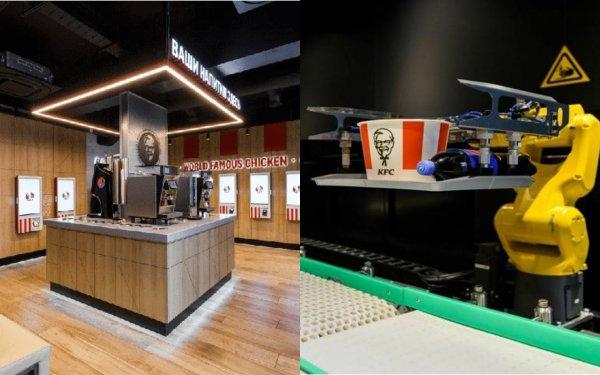 KFC откроет в Москве ресторан без живых работников