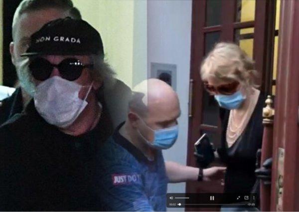 Рената Литвинова попала в квартиру Ефремова в его отсутствие