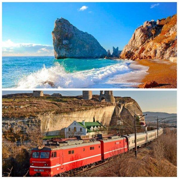Школьники смогут поехать в Крым на поезде со скидкой 50%